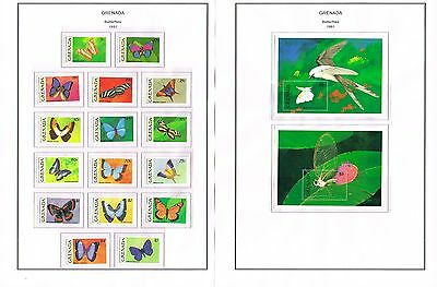 Grenada - 1991 Collection Of Sets/min Sheets Mint Never Hinged (12 Scans)