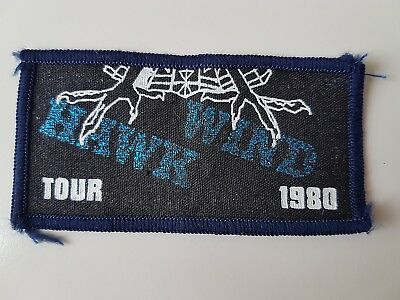 Hawkwind Vintage 1980 Tour Printed Patch Stoner Rock Prog Psych Heavy Metal