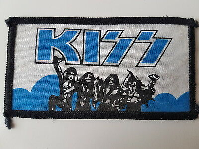 Kiss Vintage Printed Patch Destroyer Heavy Metal Rock