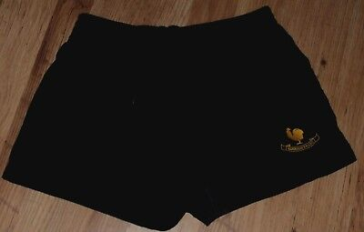 "Mens Used Nike Black Polyester Harrogate Rugby Union Shorts Xl 37"" - 39"" Waist"