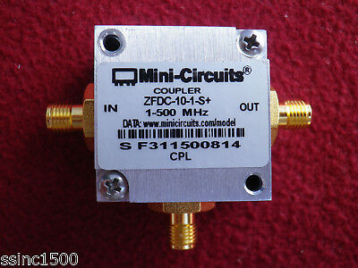 Mini-Circuits Coaxial Directional Coupler ZFDC-10-1-S+ 1-500MHz 50 Ω
