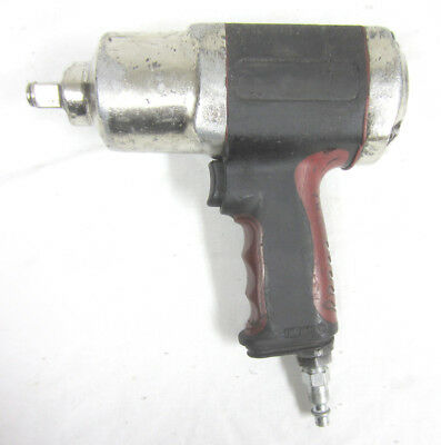 "1/2"" Impact Wrench Pneumatic Air Hand Tool - Bearings AS-IS, Works!!"
