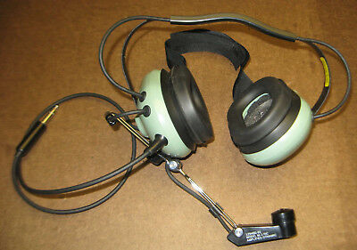 David Clark H3340 Behind The Head headset with C3002 Adapter