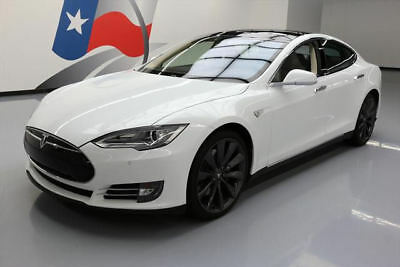 2014 Tesla Model S  2014 TESLA MODEL S 85 TECH HTD LEATHER NAV 21'S 15K MI #P38434 Texas Direct Auto