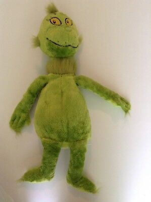 """Kohl's Cares for Kids Dr Seuss The Grinch Who Stole Christmas 21"""" Plush"""