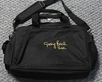 Genesis Phil Collins Going Back Tour Laptop Messenger Bag Nwt