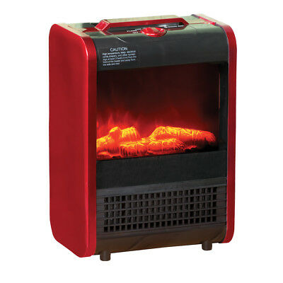 Portable Ceramic Fireplace Heater, by Collections Etc