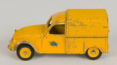 French Dinky 560 CITROËN 2CV FOURGONNETTE Post Van. Rare. Unboxed.