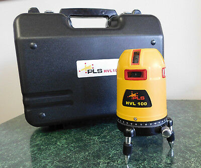 Pacific Laser Systems PLS HVL 100 Laser TOOL W/ Case ((See Description))