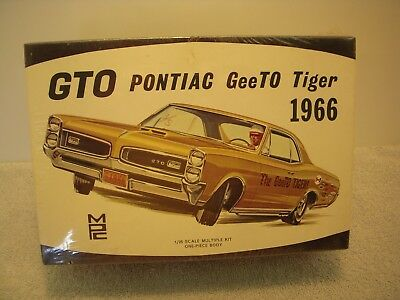 MPC~GTO~PONTIAC GeeTo TIGER 1966 1:25 ~SEALED~COMPLETE~W/ XTRA SLOT RACING PACK