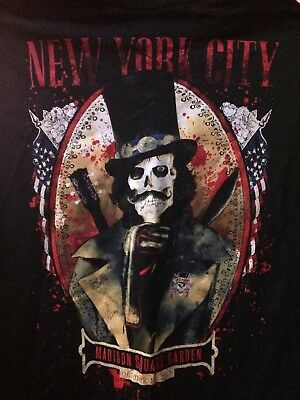 Guns N Roses Madison Square Garden Msg Nyc New York Slash  Shirt Xl 10/16