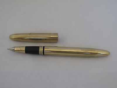 Vintage Gold Filled Sheaffer Fountain Pen with a 14K Gold Nib