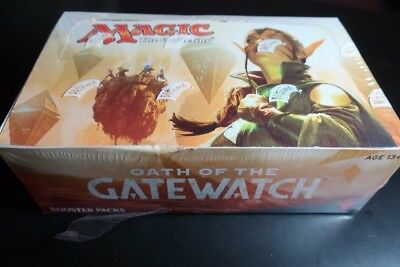 MTG Magic the Gathering Oath of the Gatewatch Sealed Booster Pack Box