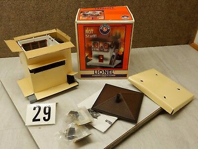 Lionel # 14104 Burning Switch Tower **********MUST SEE**********# 29