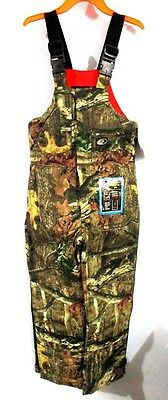 Mossy Oak Breakup Infinity Insulated Bib Overalls Youth Medium New With Tags