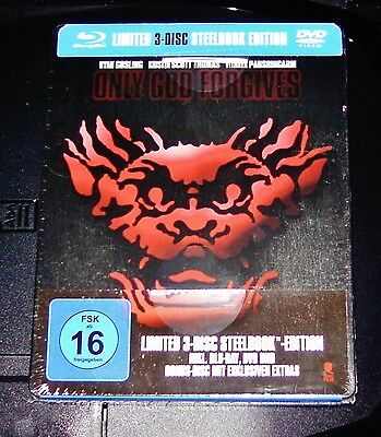 God Forgives Limited Steelbook Edition Blu-Ray + Double Dvd