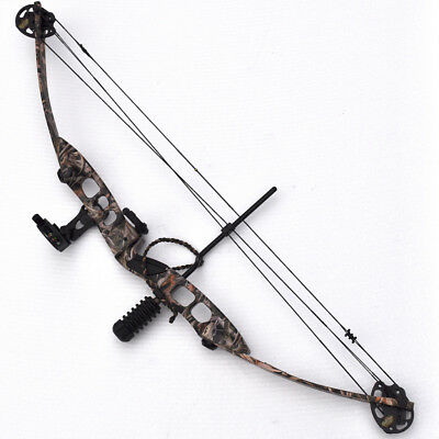 Atunga Stalker Camo 20lbs -60lbs Compound Bow Standard Kit Archery Deluxe2
