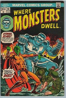 Where Monsters Dwell 20 Mar 1973 FI- (5.5)