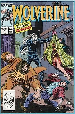 Wolverine 4 Feb 1989 NM- (9.2)