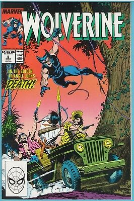 Wolverine 5 Mar 1989 NM- (9.2)