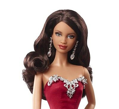 2015 Holiday Barbie Doll African American