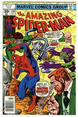 Amazing Spider-Man #170 (1977) VF/NM Marvel Comics