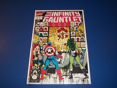 Infinity Gauntlet #2 Thanos Avengers Spider-man NM- Beauty Wow