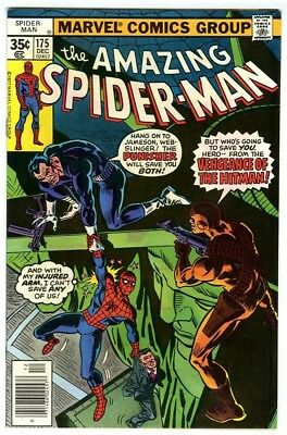 Amazing Spider-Man #175 (1977) VF+ Marvel Comics Punisher appearance