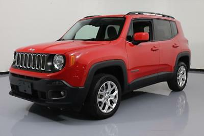 2016 Jeep Renegade  2016 JEEP RENEGADE LATITUDE 4X4 REA RCAM ALLOYS 41K MI #C92323 Texas Direct Auto