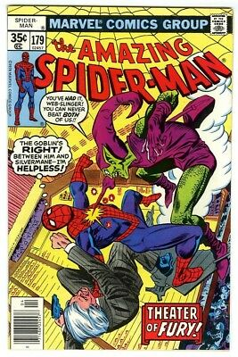 Amazing Spider-Man #179 (1978) VF+ Marvel Comics Green Goblin appearance