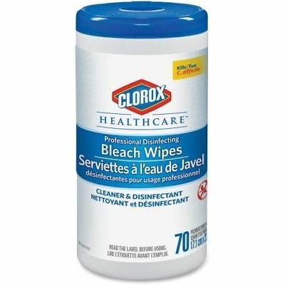 Clorox Healthcare Professional Disinfecting Bleach Wipes 01308