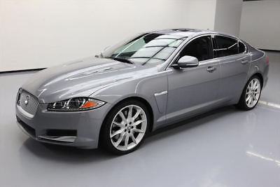 2013 Jaguar XF Supercharged Sedan 4-Door 2013 JAGUAR XF SUPERCHARGED SUNROOF NAV REAR CAM 44K MI #S55287 Texas Direct