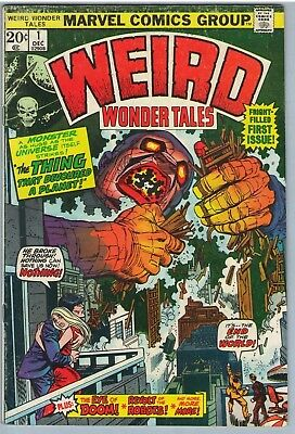 Weird Wonder Tales 1 Dec 1973 VG+ (4.5)