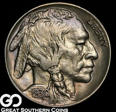 1930-S Buffalo Nickel, Sharp Gem BU++, Very Nice!