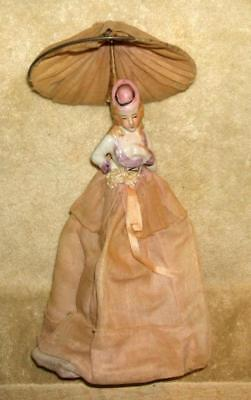 Antique Half Doll Lamp Shade or Cover