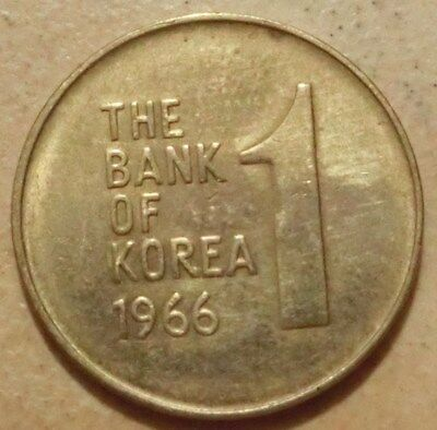 Süd Korea  1  Won  1966