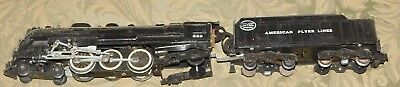 Vintage American Flyer S Gauge 326 New York Central Engine And Tender 4 6 4