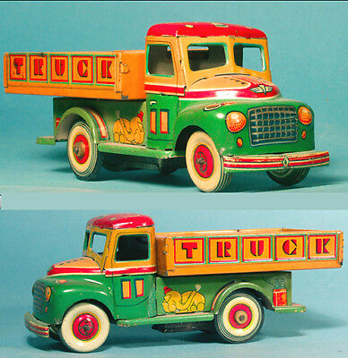 Early 1950s Tin CHILDREN TRUCK - Japan **SCROLL DOWN** for LARGER Pics !!