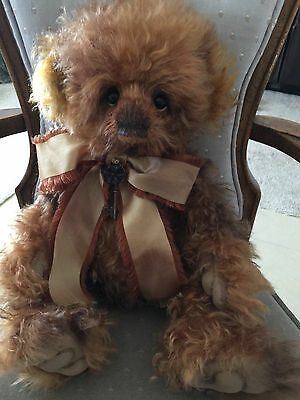 Charlie Bears PRINCE 2016 Isabelle Mohair Collection FREE US SHIP