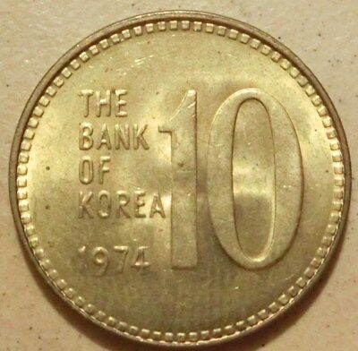 Süd Korea  10  Won  1974