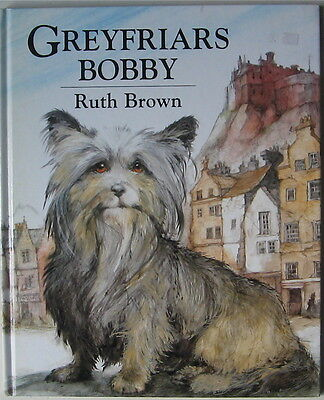 Skye Terrier Illustrated Story Greyfriars Bobby  Ruth Brown