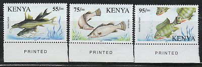Kenya #790-92 MNH 2006 Lake Victoria Fishes SUPERB & VERY SCARCE!