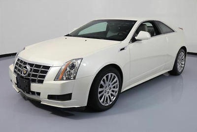 2014 Cadillac CTS Base Coupe 2-Door 2014 CADILLAC CTS 3.6 COUPE AUTOMATIC LEATHER BOSE 27K #181661 Texas Direct Auto