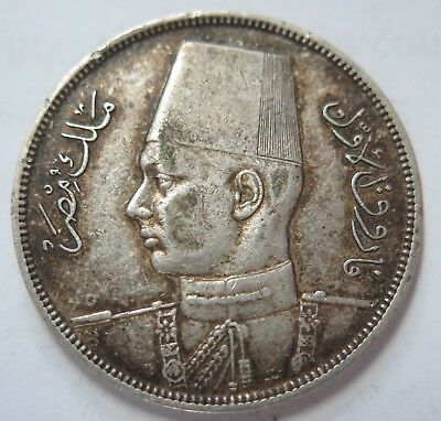 Egypt  1937 10 Piastres Very Fine