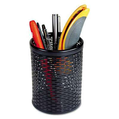 Artistic® Urban Collection Punched Metal Pencil Cup, 3 1/2 x 4 1/ 030615142055