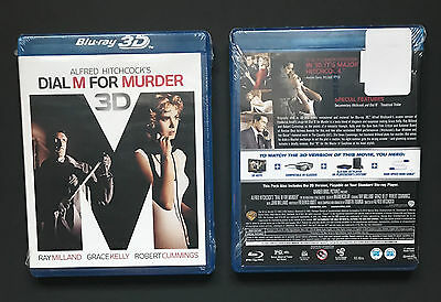 Dial M for Murder Blu-Ray * Brand New * (2012) 2D & 3D Alfred Hitchcock