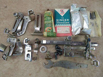 Vintage Singer Sewing Machine Attachments -(4)