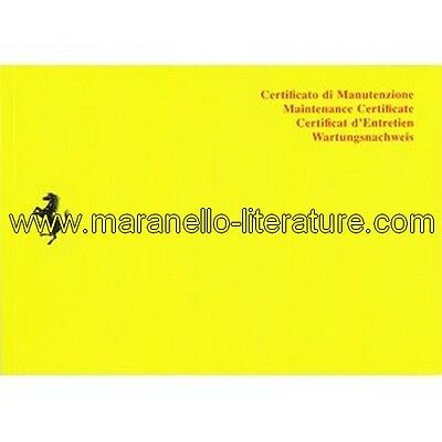 (4483) 2010 Ferrari owner's warranty and service book 3740/10 (95990615)