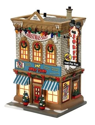 Department 56 - A Christmas Story Village - THE JOKE SHOP -  Used in box -