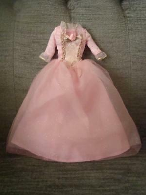 Barbie Doll Clothes - Dress For Singing Princess Anneliese -Prince & The Pauper